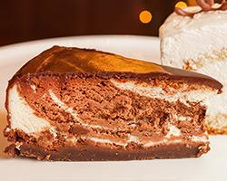 Пирожное «Мраморный чизкейк»