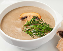 Суп - пюре из шампиньонов