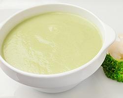 Суп-пюре диетический с курицей (без соли)